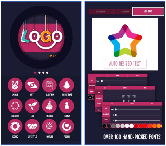 Light Creative LabのLogo Generator & Logo Maker