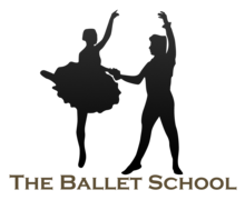 the Ballet School Logaster logo